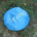 Teyimoポップアップテントをレビュー!安い上に遮熱やUVカットもできてオススメ!