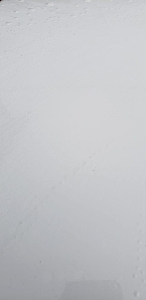 ジェネシスΩ2の脱脂シャンプーで水垢もとれる!